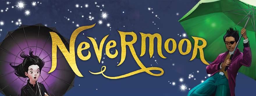 The Australian/New Zealand art for Nevermoor